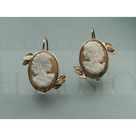 Cameo's earrings