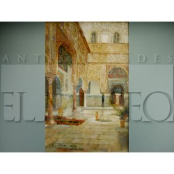 José Montenegro Capel - Interior del Alcázar