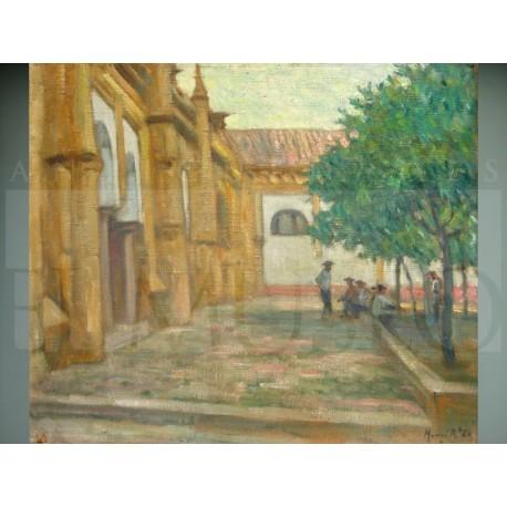 H. Achille Zo - Patio de la Mezquita