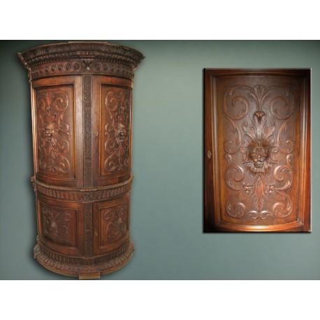 Cabinet semicircular