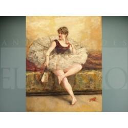 Eduardo León Garrido - Bailarina con abanico