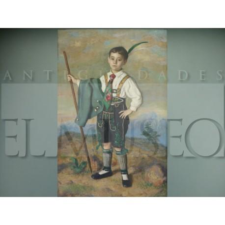 Eugenio Hermoso - Niño