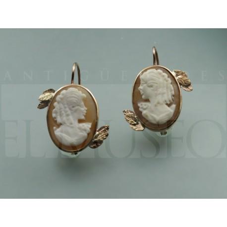 Cameo's earrings