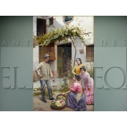 José Rico Cejudo - La vendedora de flores