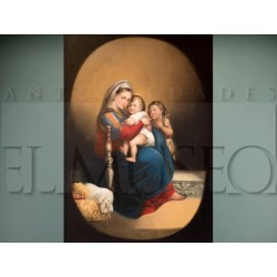 Virgin with Child and Saint John Child - Anonymous