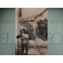 José García Ramos - La Cencerrada al viudo