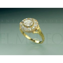 Beautiful French ring from the end of the 19th century