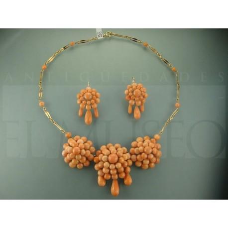 Aderezo coral mediterraneo rosetas